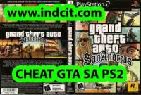 CHEAT GTA SA PS2