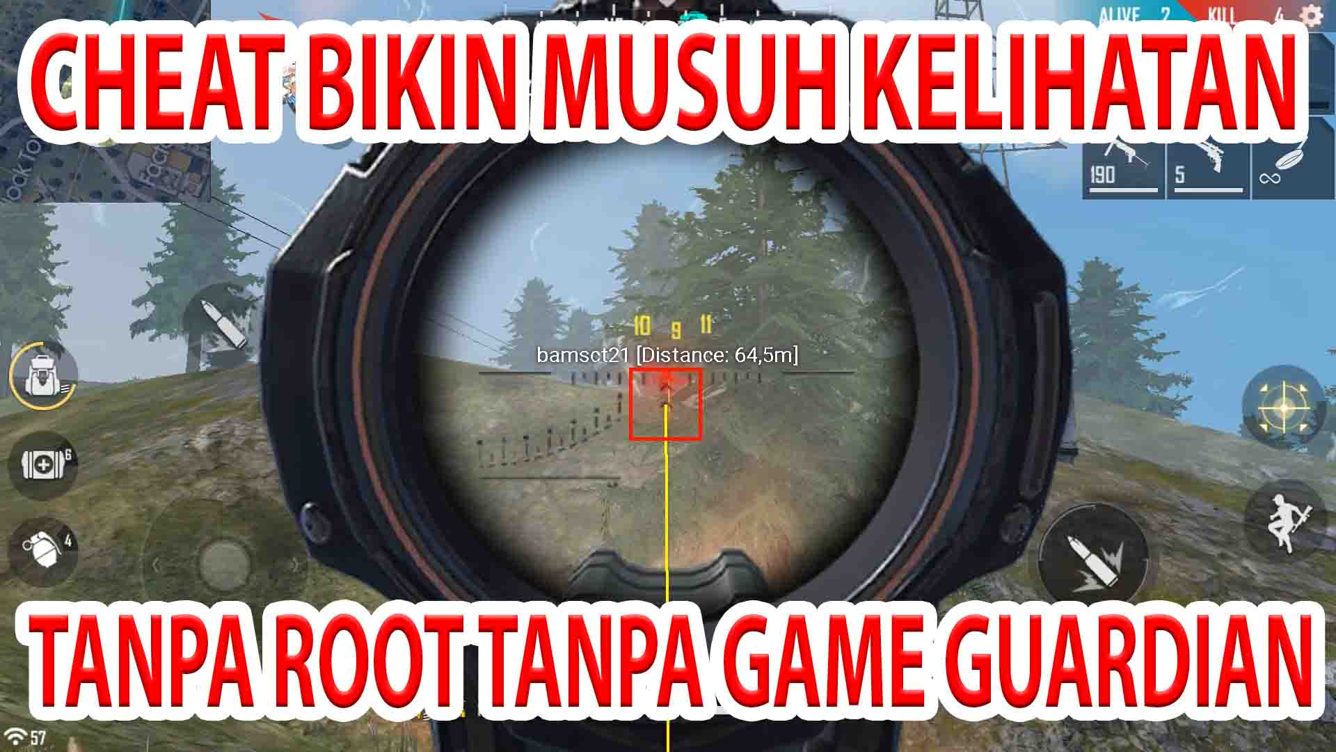 Cheat VIP Free Fire Tanpa Root dan Game Guardian