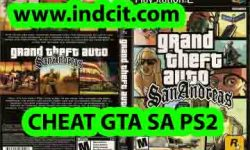 Cheat GTA SA PS2 Bahasa Indonesia Terbaru Lengkap