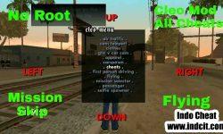 GTA San Andreas Android Cheat Lengkap
