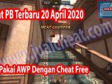 Cheat PB 20 April